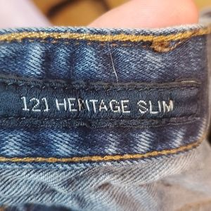Lucky Brand Jeans - Mens Lucky Brand heritage slim jean  sz 33/30 #022